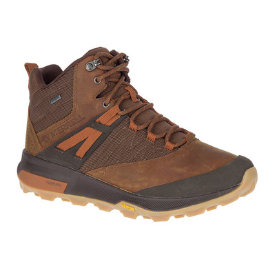 MERRELL - ZION MID GTX - Chaussures randonnée Homme toffee