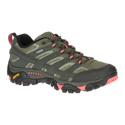 MERRELL - MOAB 2 GTX - Hiking Shoes - Women's - beluga olive