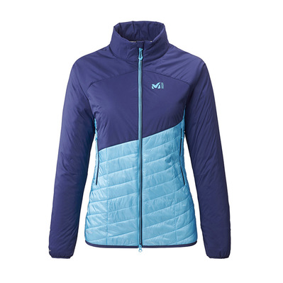 MILLET - ELEVATION AIRLOFT - Hybrid Jacket - Women's - light blue/blue depths