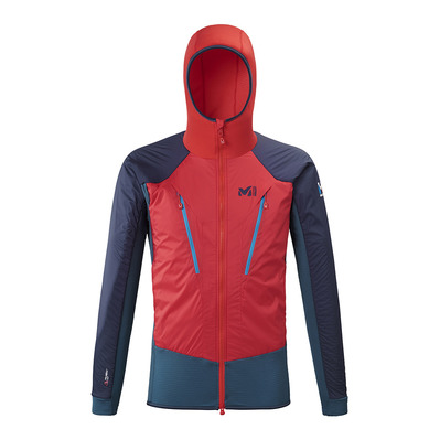 MILLET - TRILOGY HYBRID ALPHA - Veste Homme indian/rouge