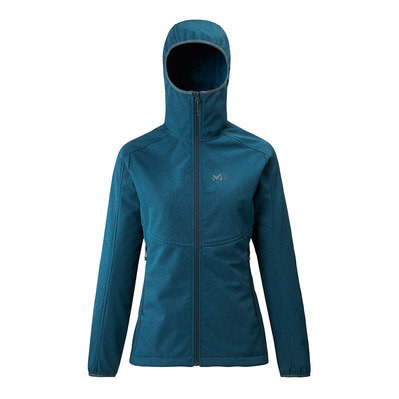MILLET - SHUKSAN HIGHLOFT II HOODIE - Jacket - Women's - h orion blue