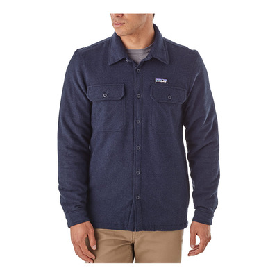 PATAGONIA - INSULATED FJORD FLANNEL - Camisa hombre navy blue