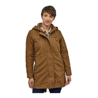 PATAGONIA - INSULATED PRAIRIE DAWN - Parka Jacket - Women's - owl brown
