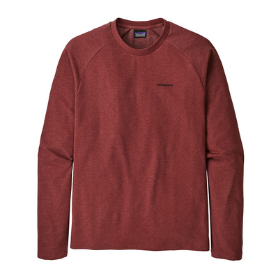 PATAGONIA - P-6 LOGO LIGHTWEIGHT CREW - Sweatshirt - Men's - oxide red