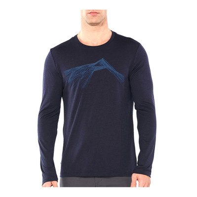 ICEBREAKER - TECH LITE - Tee-shirt Homme shear/midnight navy