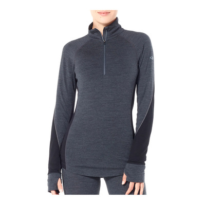 ICEBREAKER - 260 ZONE - Base Layer - Women's - jet hthr/black