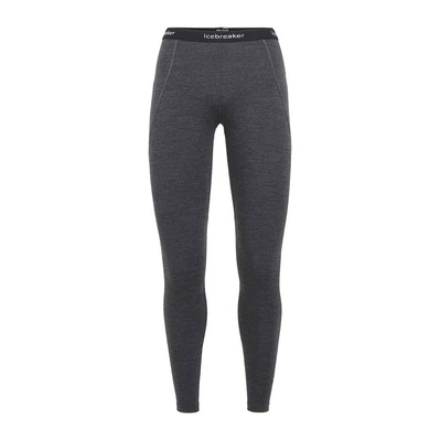 ICEBREAKER - 260 ZONE - Funktionsleggings Frauen jet hthr/black