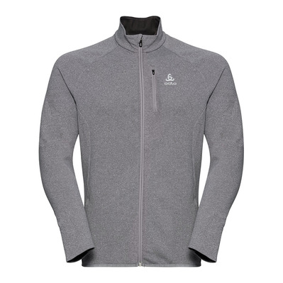 ODLO - CARVE CERAMIWARM FULL - Sweat Homme grey melange