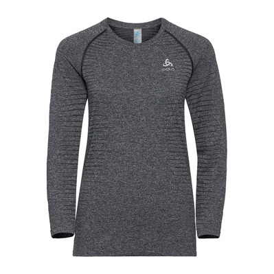 ODLO - ELEMENT - Camiseta mujer grey melange