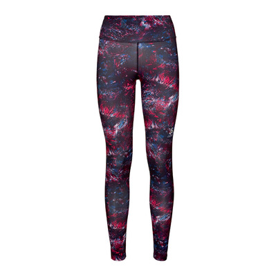 ODLO - Collant ELEMENT Light AOP Femme cerise multicolour AOP FW19