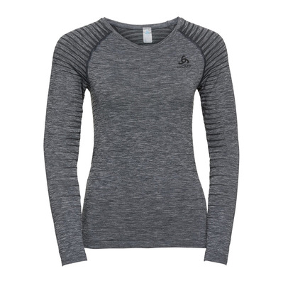 ODLO - T-shirt ML PERFORMANCE LIGHT Femme grey melange