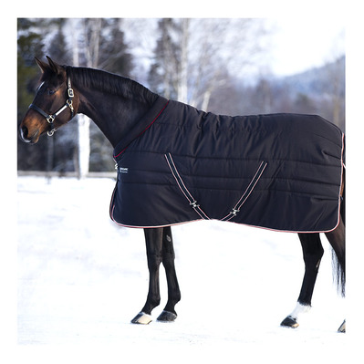 HORSEWARE - RAMBO COSY STABLE 400G - Coperta da box blk tan or