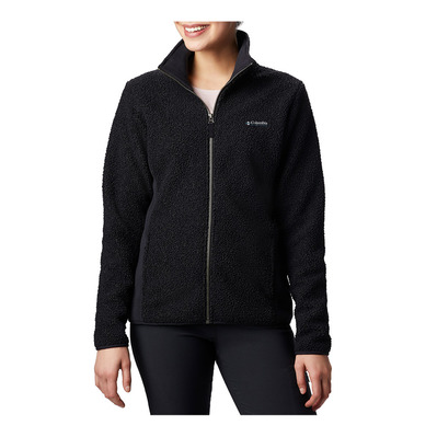 COLUMBIA - Panorama Full Zip-Black Femme Black