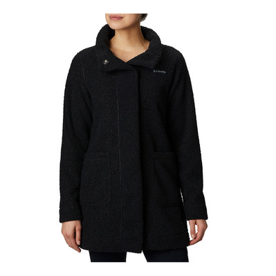 COLUMBIA - PANORAMA LONG - Chaqueta mujer black