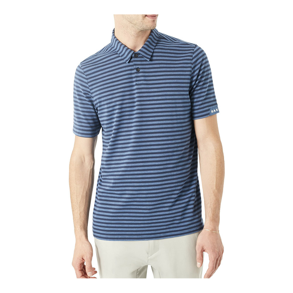 Polo ensign blue stripe
