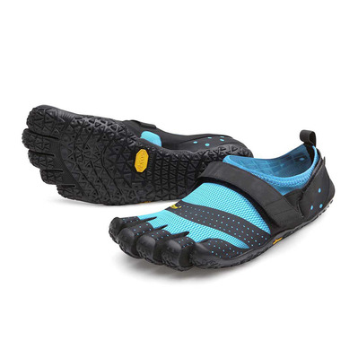 FIVE FINGERS - V-AQUA - Escarpines mujer black/turquoise