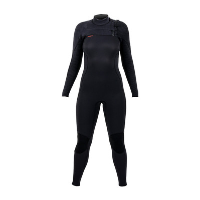 O'NEILL - Wms Hyperfreak 5/4+ Chest Zip Full Femme BLK/BLK