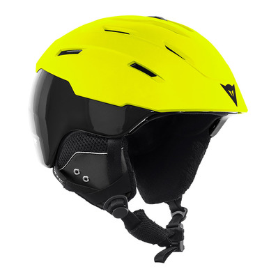 DAINESE - D-BRID - Casque ski lime-punch/stretch-limo