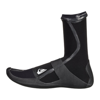 QUIKSILVER - HIGHLINE LITE - Chaussons surf 3mm Homme black