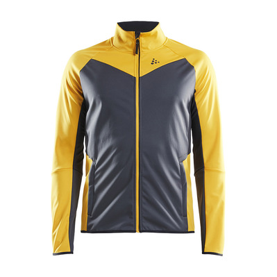 CRAFT - GLIDE - Jacket - Men's - buzz/asphalt