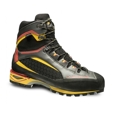 LA SPORTIVA - TRANGO TOWER GTX - Zapatillas de alpinismo hombre black/yellow