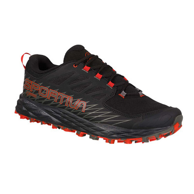 LA SPORTIVA - LYCAN GTX - Chaussures trail Homme black/poppy