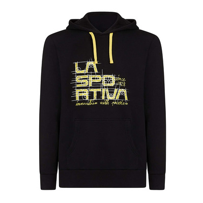 LA SPORTIVA - PROJECT - Sweat Homme yellow/black