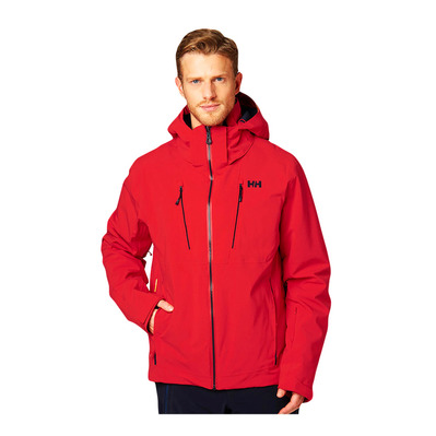 HELLY HANSEN - ALPHA 3.0 - Ski Jacket - Men's - alert red
