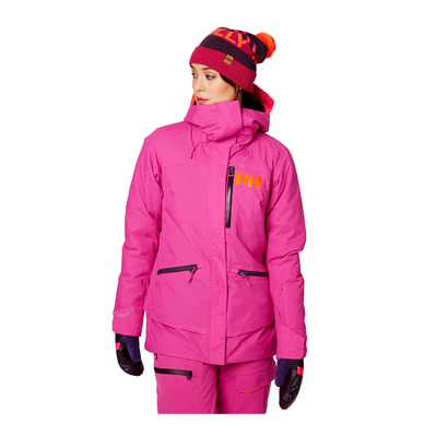 HELLY HANSEN - W SHOWCASE - Chaqueta de esquí mujer dragon fruit