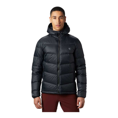 MOUNTAIN HARDWEAR - MOUNT EYAK DOWN HOODY - Doudoune Homme black
