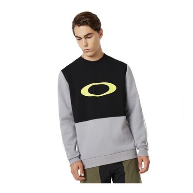 OAKLEY - JAZZ HANDS DWR CREW NECK - Sweat Homme blackout