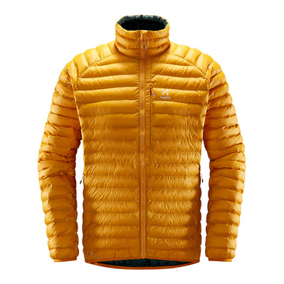 HAGLOFS - ESSENS MIMIC - Down Jacket - Men's - desert yellow/mineral