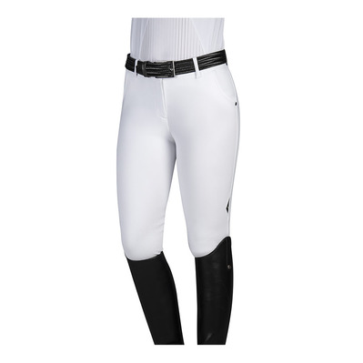 EQUILINE - CORINDONE - Pantalón con silicona mujer  white