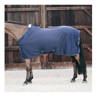 KENTUCKY - FLEECE - Manta de secado navy