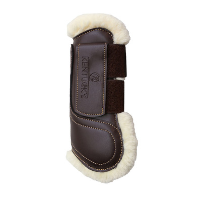 KENTUCKY - VELCRO - Stinchiere marrone