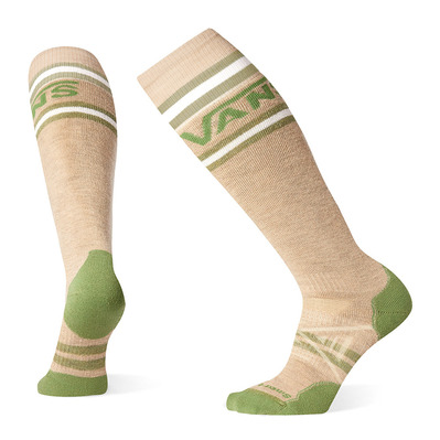 SMARTWOOL - PHD VANS STRIPES MEDIUM - Chaussettes snow oatmeal