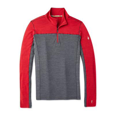 SMARTWOOL - MERINO SPORT 250 ZIP - Sous-couche Homme chili pepper heather