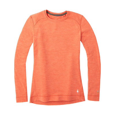 SMARTWOOL - MERINO 250 - Camiseta térmica mujer light habanero heather