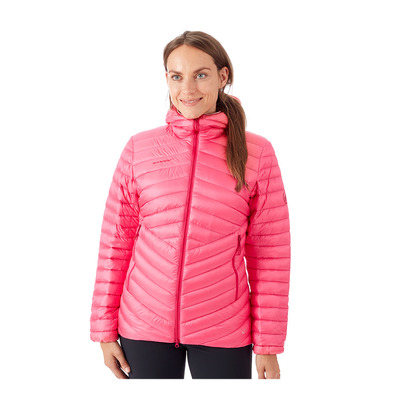 MAMMUT - BROAD PEAK - Doudoune Femme dragon fruit/scooter
