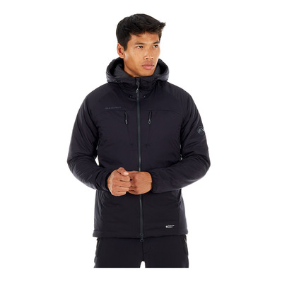 MAMMUT - RIME FLEX - Jacket - Men's - black/phantom