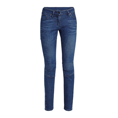 SALEWA - AGNER DENIM CO - Pantalon Femme jeans blue