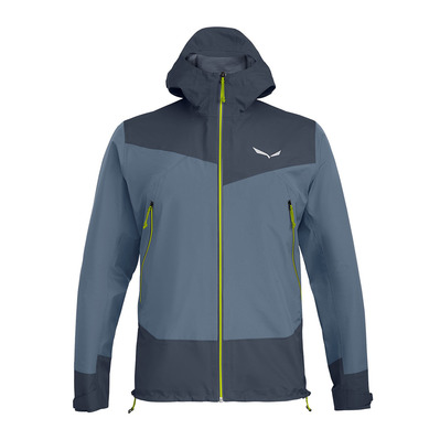 SALEWA - SESVENNA ACTIVE GTX - Jacket - Men's - flint stone