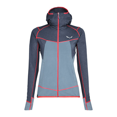 SALEWA - PUEZ HYBRID PL - Fleece - Women's - ombre blue melange