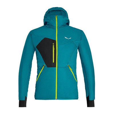 SALEWA - PEDROC HYBRID TWC - Jacket - Men's - ocean