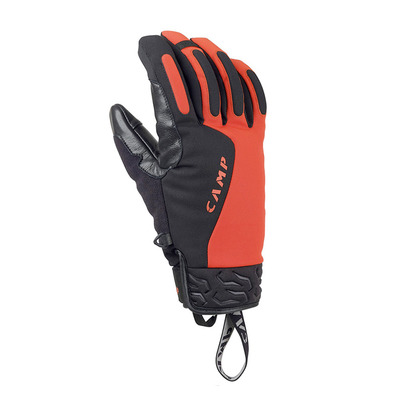 CAMP - GEKO HOT - Gloves - black/red