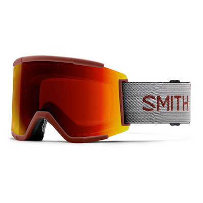 SMITH - SQUAD XL - Masque ski cp sn red mir/6w/cp storm yellow flash