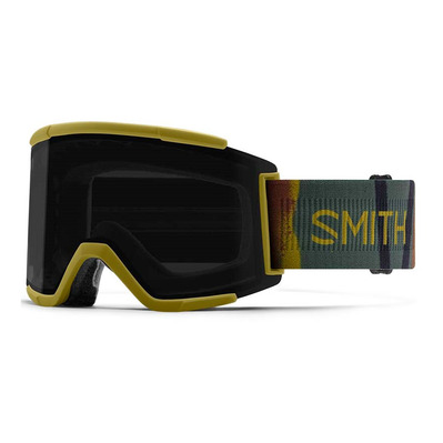 SMITH - SQUAD XL - Masque ski cp sun black/mo/cp storm rose flash