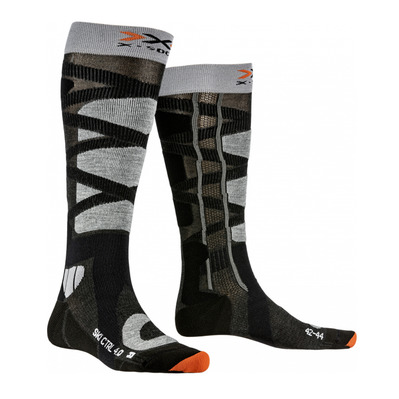 X-SOCKS - CONTROL 4.0 - Ski Socks - anthracite/grey