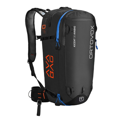 ORTOVOX - ASCENT AVABAG 30L - Zaino airbag nero anthracite