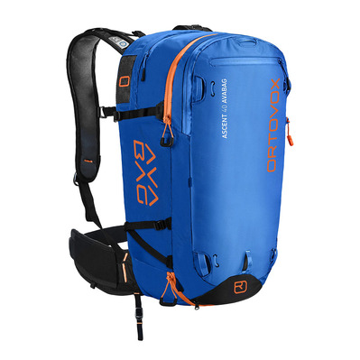 ORTOVOX - ASCENT AVABAG 40L - Zaino airbag safety blue